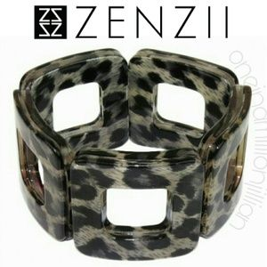 Zenzii On the Box Acrylic Bracelet